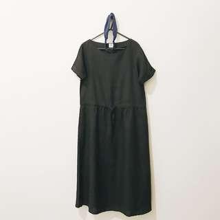 makersgonnamake 亞麻 絕版 短袖 長裙 長洋裝 購於 Pinkoi 泰國設計品牌 12
