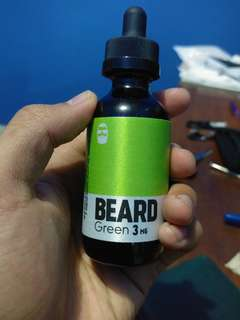 Beard Green E Juice 3 mg