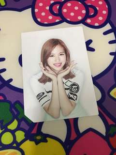 Twice page two Mina flower photocard