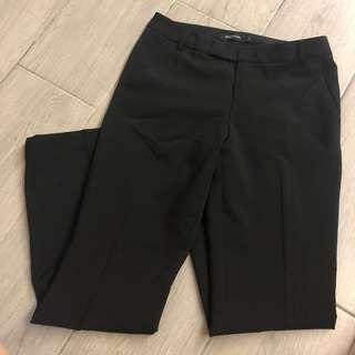 全新G2000女裝直腳西褲 無彈性 OL服裝 black pants