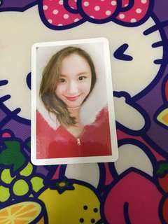Twice Christmas chaeyoung photocard