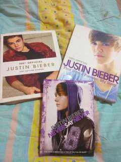 JUSTIN BIEBER OFFICIAL BOOK & DVD