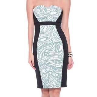 Love Bonito Neoprene Tube Dress
