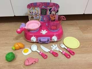 Takara TOMY Disney Minnie Kitchen Cooking Set