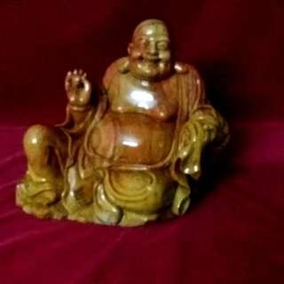 寿山石雕弥勒佛  (俗称笑佛 )
