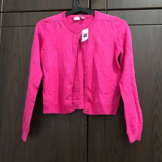 Authentic Gap pink cardigan sweater