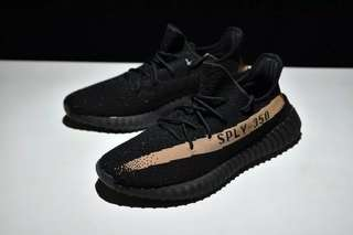 Adidas Yeezy Boost V2 350-SPLY Core Black Copper