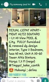 Apartment Altiz Tower Bintaro