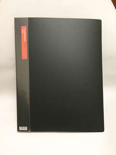 Comix A3 size clear book, color base with 18 pockets, 9成新圖紙册