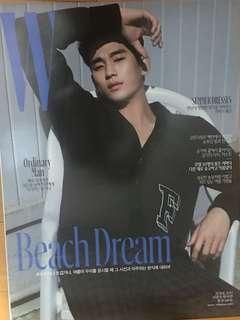 金秀賢 雜誌封面海報A 約29cm x 42cm 包海報筒