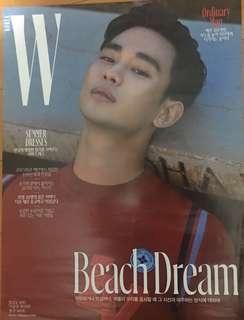 金秀賢 雜誌封面海報B 約29cm x 42cm 包海報筒