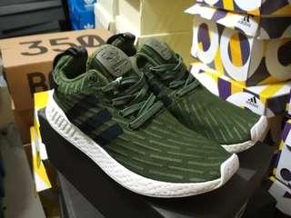 Adidas NMD R2 Green Grade Original