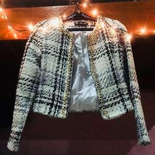 Tweed Short Blazer