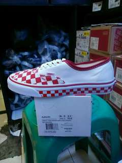 vans authentic checkboard   wafle ICC