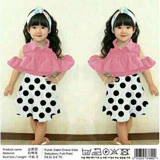 19 - Funik Sabri Dress Kids