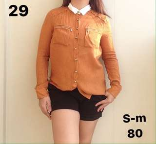 Polo blouse for women