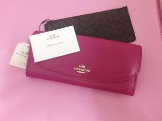 Coach Wallet&purse 銀包及散子包套裝