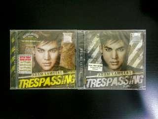 Adam Lambert 2 CD + 1 DVD Combo - Trespassing