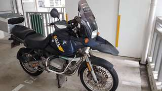 R 1100 GS Singapore Bike 🇸🇬 Tiptop Condition with Ohlins Suspension Front & Rear!!! Cash Only: RM 14,000