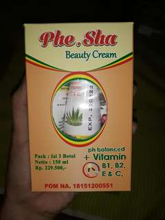 Phe Sha Beauty Cream
