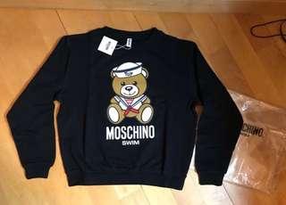 Moschino Sailor 水手 bear Sweater  熊仔衛衣(白色或黑色)