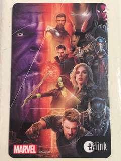 Avengers Infinity War EzLink Card