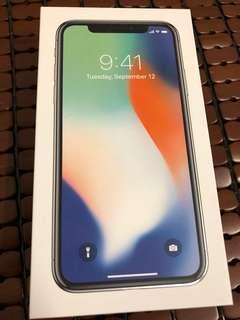 出售 iPhone X 64g 蘋果官網購買