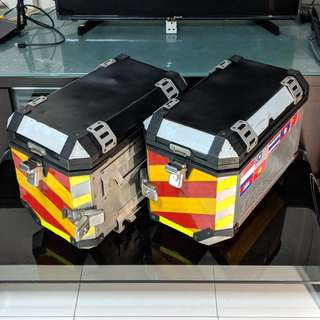 TRAX SW-MoTech Aluminium Side Panniers / TRAX Side Pannier / TRAX Side Boxes / TRAX Side Box / SW MoTech Side Boxes / SW MoTech Side Box / TRAX Side Cases / 45L Side Case / 45L boxes / 45L Side Case / TRAX 45 Liters Boxes