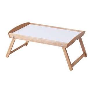 IKEA DJURA Bed tray, rubberwood