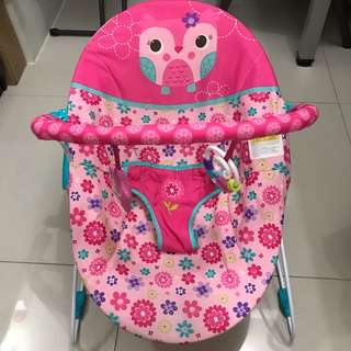 BRIGHT STARTS HAPPY FLOWER VIBRATING BOUNCER