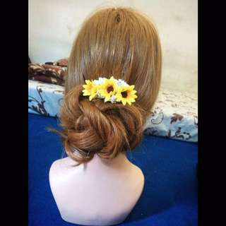 Jepit Rambut Sunflower