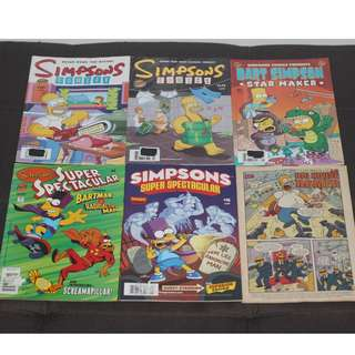 Assorted Simpsons Comics by Matt Groening