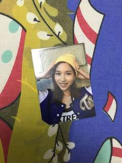 Twice page two Mina photocard