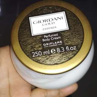 Giordani gold body cream harga member oriflame