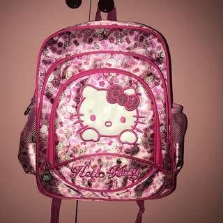 Hello kitty bagpack for kids