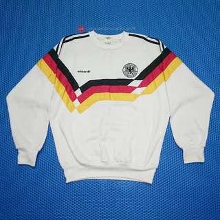 🆒 Vintage 90s Adidas West Germany Deutschland Sweater