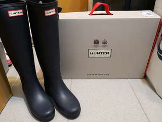 *** 95% New !!  Hunter Original Refined Wellies ***