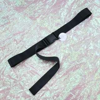 塑膠安全扣造型中性皮帶