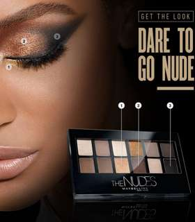 🌺 💯[AUTHENTIC] Maybelline The Nudes Eyeshadow Palette