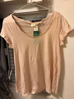 H&M cotton Tee Conscious collection