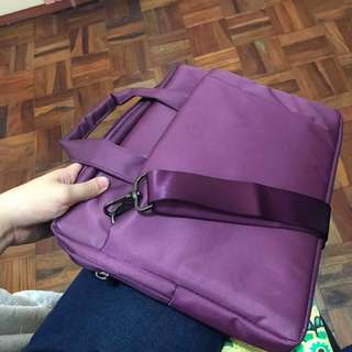 Laptop Bag (Purple)