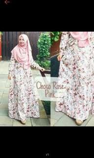 Gamis Choco Rose Pink