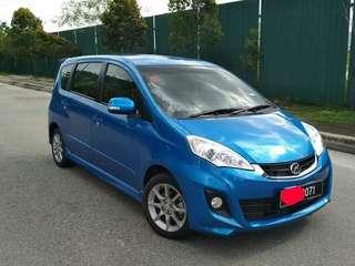 Perodua Alza auto Kereta Family Balik Beraya