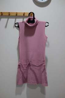 Sack dress dusty pink