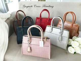 Gwyneth Croco Handbag