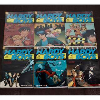 Hardy Boys Graphic Novels (#1-6) by Scott Lobdell and Daniel Rendon