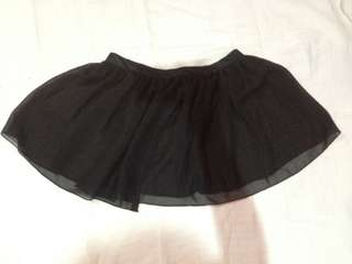 Transparent Ballet Skirt