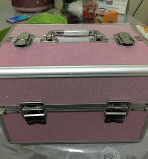 Box makeup/koper makeup/ beauty case