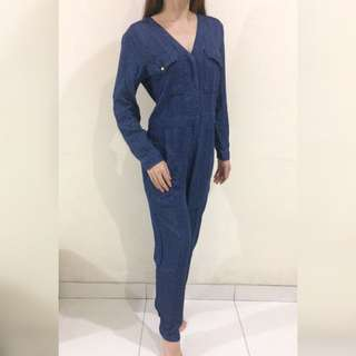 'H&M' denim Jeans blue Jumpsuit