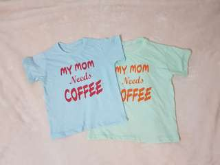 Statement Tees Kids My Mom Needs Coffee